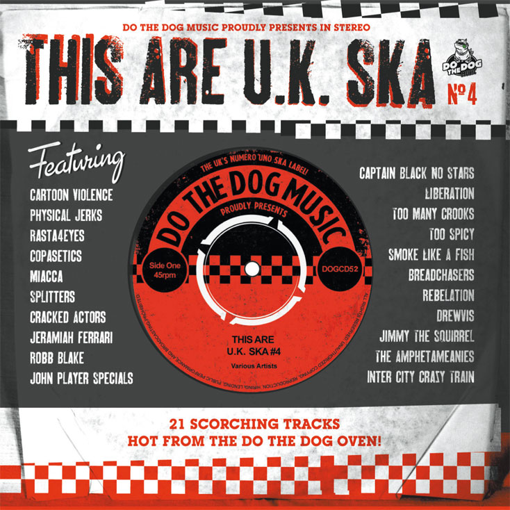'This Are UK Ska No 4' compilation from Do The Dog Music